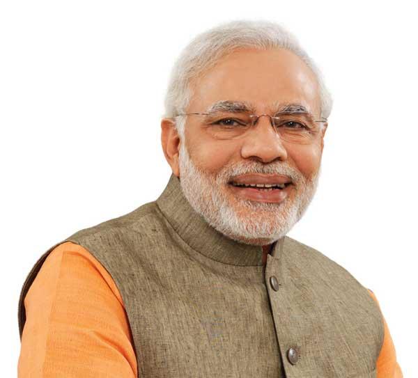 प्रधानमंत्री श्री नरेन्द्र मोदी का आधिकारिक फोटो।
