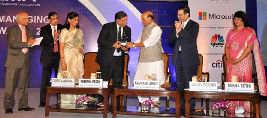 NTPC wins PSU of the Year at AIMA Managing India Awards 2014
