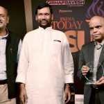 "Vinod Behari, Executive Director (HR & CC), REC conferred with India Today PSUs Award 2014 for ""Best HR Practices"" in the Navratna PSUs category from REC from the Chief Guest, Shri Ram Vilas Paswan, Union Minister for Consumer Affairs, Food and Public Distribution"