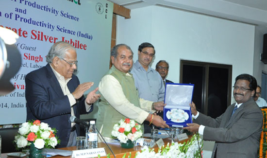 World Academy of Productivity Science, a professional body honoured NLC with a Prestigious Productivity Award