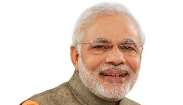 Modi Wishes Gujarat cm on Birthday Modi Wishes Gujarat cm on