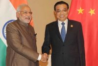 The Prime Minister, Narendra Modi meeting the Premier of People's Republic of China, Li Keqiang, in Nay Pyi Taw, Myanmar