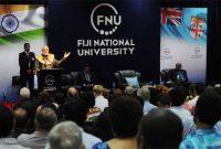 The Prime Minister, Narendra Modi at the interaction with civil society groups, at Fiji National University, in Suva, Fiji on November 19, 2014.