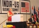 US President Barack Obama & Prime Minister Narendra Modi at the India-US Business Summit in New Delhi
