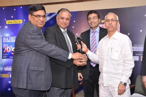BHEL gets DSIJ Award 2014 for the Most Efficient Maharatna PSU
