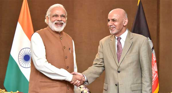 Prime Minister, Narendra Modi meeting the President of Afghanistan, Dr. Mohammad Ashraf Ghani, in Tehran on May 23, 2016.