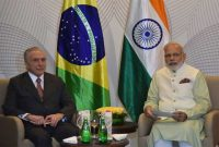 Modi meets Brazilian President