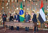 UAE, Brazil sign three accords enhancing ties