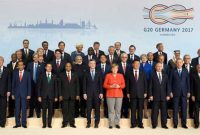 Prime Minister, Narendra Modi in the family photograph with other Leaders' of G-20 Nations, at Hamburg, Germany on July 07, 2017.