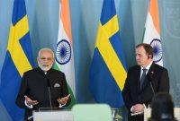 Modi meets Swedish PM ahead of talks