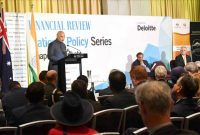 President of India, Ram Nath Kovind, during Addressing at the Australian Financial Review India Business Summit at Sydney