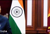 Asoka Milinda Moragoda, High Commissioner of Sri Lanka presenting credentials to President of India