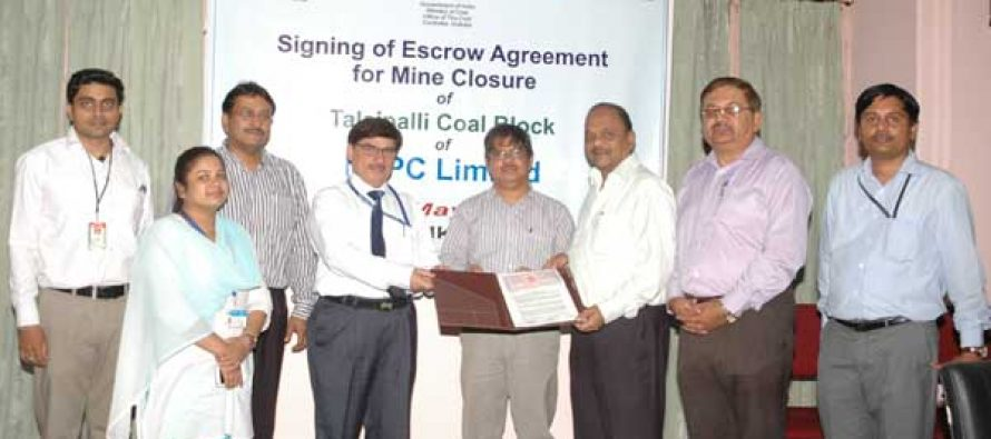 NTPC signed Tripartite Escrow Agreement for its coal blocks Chatti-Bariatu in Jharkhand & Talaipalli in Chhattisgarh