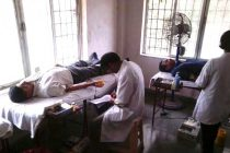 Blood Donation Camp at Konkan Railway