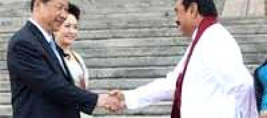 Chinese, Sri Lankan presidents meet in Shanghai