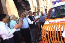 POWERGRID Donates Ambulance to General Hospital, Gurgaon under CSR