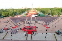 Preparations are in full swing for the Swearing-in-Ceremony on 26 May, 2014 at Rashtrapati Bhavan.