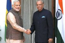 The Prime Minister, Narendra Modi with the Prime Minister of Mauritius, Dr. Navinchandra Ramgoolam, in New Delhi on May 27, 2014.