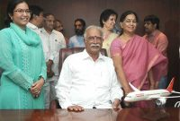 Ashok Gajapathi Raju Pusapati taking charge as the Union Minister for Civil Aviation, in New Delhi on May 29, 2014.