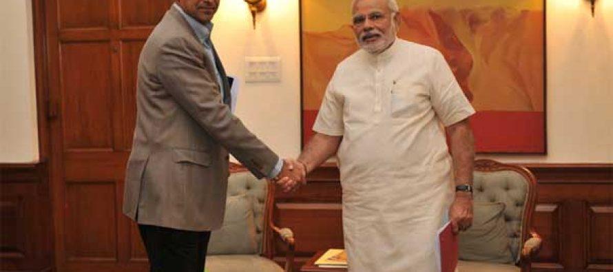 RBI governor calls on Narendra Modi