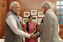 Oman foreign minister meets PM, Sushma