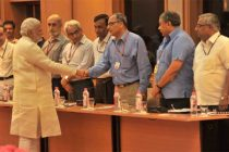 The Prime Minister, Narendra Modi being introduced to the Secretaries to the Government of India, before the meeting with the Secretaries.