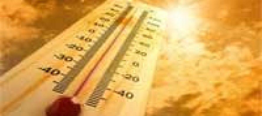 Jammu records season's highest temperature at 44 degrees