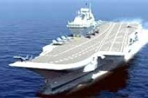 Modi aboard India's largest aircraft carrier