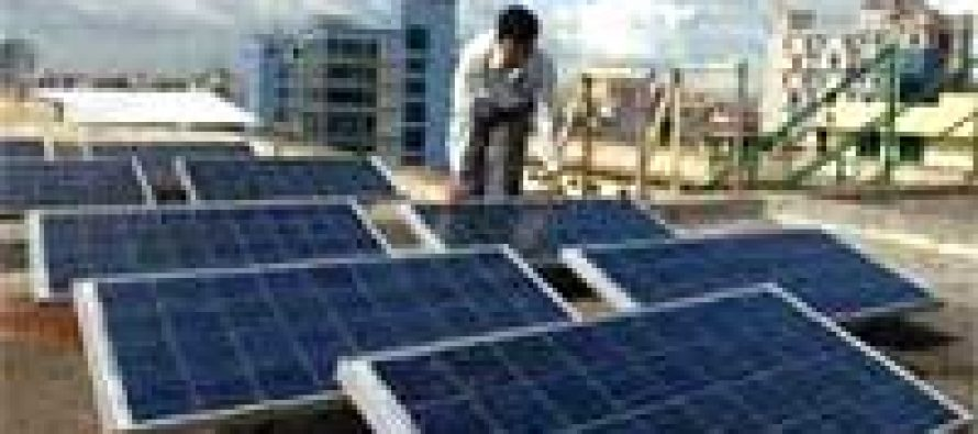 Tata firm sets up roof-top solar panels in Gujarat