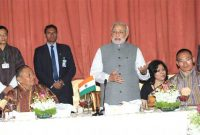 The Prime Minister, Narendra Modi addressing at the banquet, hosted by the Prime Minister of Bhutan, Lyonchhen Tshering Tobgay