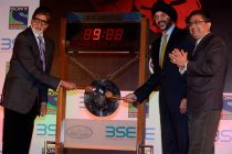 Big B rings bell at Bombay Stock Exchange