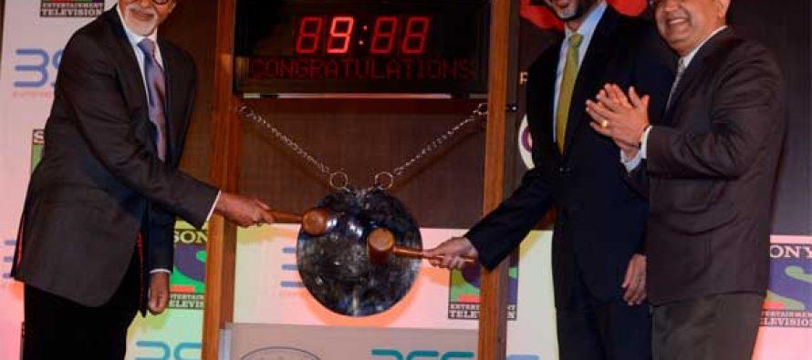 Big B rings bell at Bombay Stock Exchange