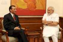 The Governor of Nagaland, Dr. Ashwani Kumar calling on the Prime Minister, Narendra Modi, in New Delhi on June 20, 2014.