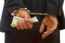 A bribe taker will go straight to jail, warns judge