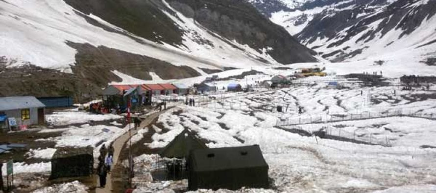 Amarnath Yatra halted due to bad weather