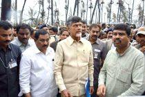 The MoS (IC) for Petroleum and Natural Gas, Dharmendra Pradhan alongwith the CM of Andhra Pradesh, N. Chandrababu Naidu