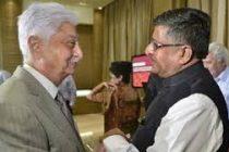 Wipro chief Azim Premji meets Ravi Shankar Prasad