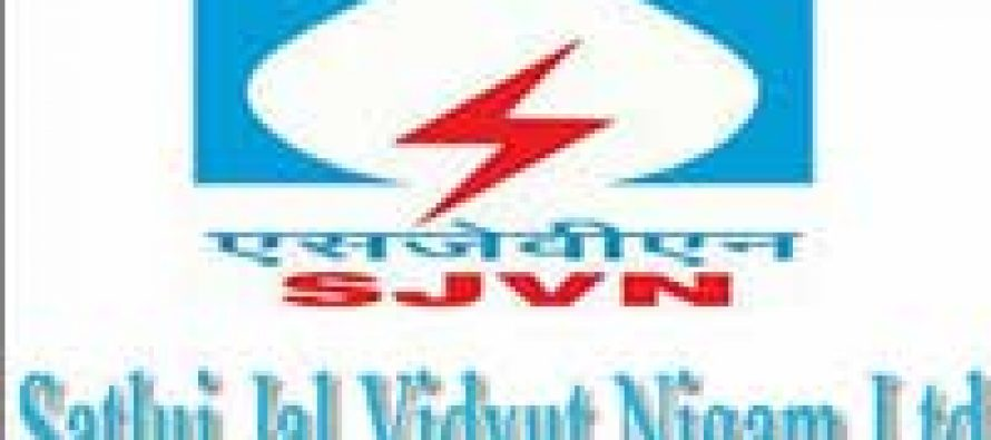 SJVNL Q1 profit up 25.53 percent