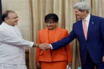 Kerry meets Jaitley ahead of strategic dialogue