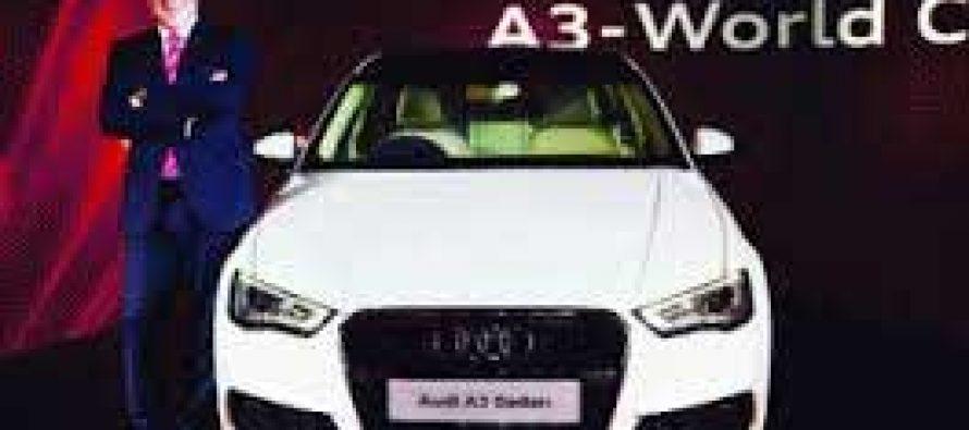 Audi launches A3 compact luxury sedan