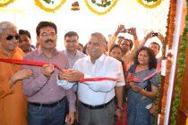 CMD, REC, inaugurates Maitri Ghar, a Widows' Ashram