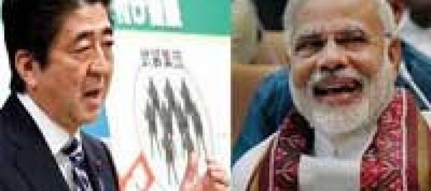 Modi greets Japan, Abe — in Japanese