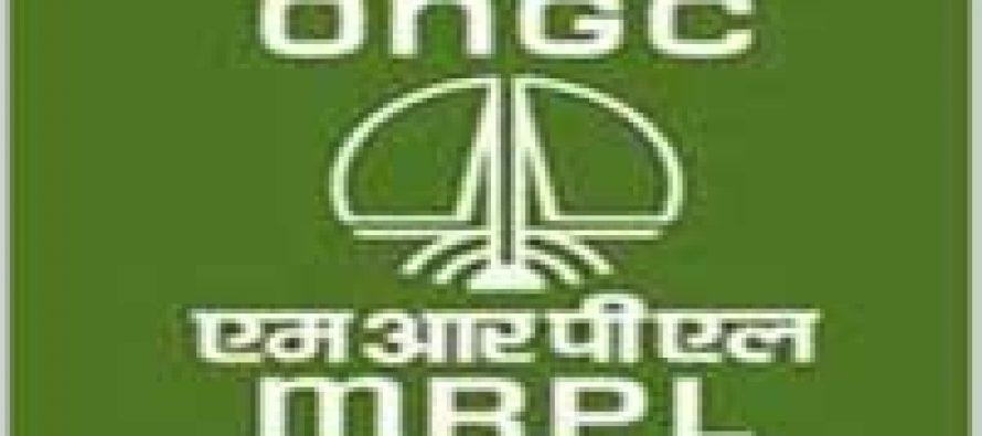 MRPL registers 3.2% higher turnover