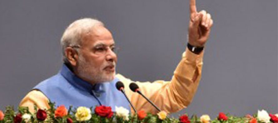 Finger pressing EVM stronger than one on AK-47: Modi