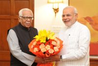 Governor of Uttar Pradesh, Shri Ram Naik calls on the Prime Minister, Shri Narendra Modi