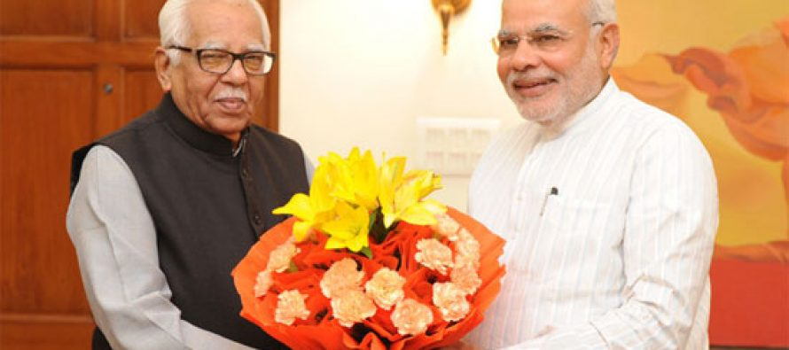 Governor of Uttar Pradesh, Shri Ram Naik calls on the Prime Minister, Shri Narendra Modi