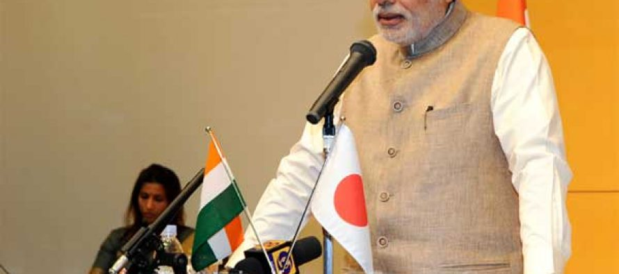 Return as India's envoys, Modi to India-bound Japanese youth