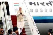 Modi arrives in Itanagar