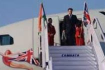 Australian PM arrives in Mumbai