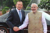 Australian PM arrives in Delhi